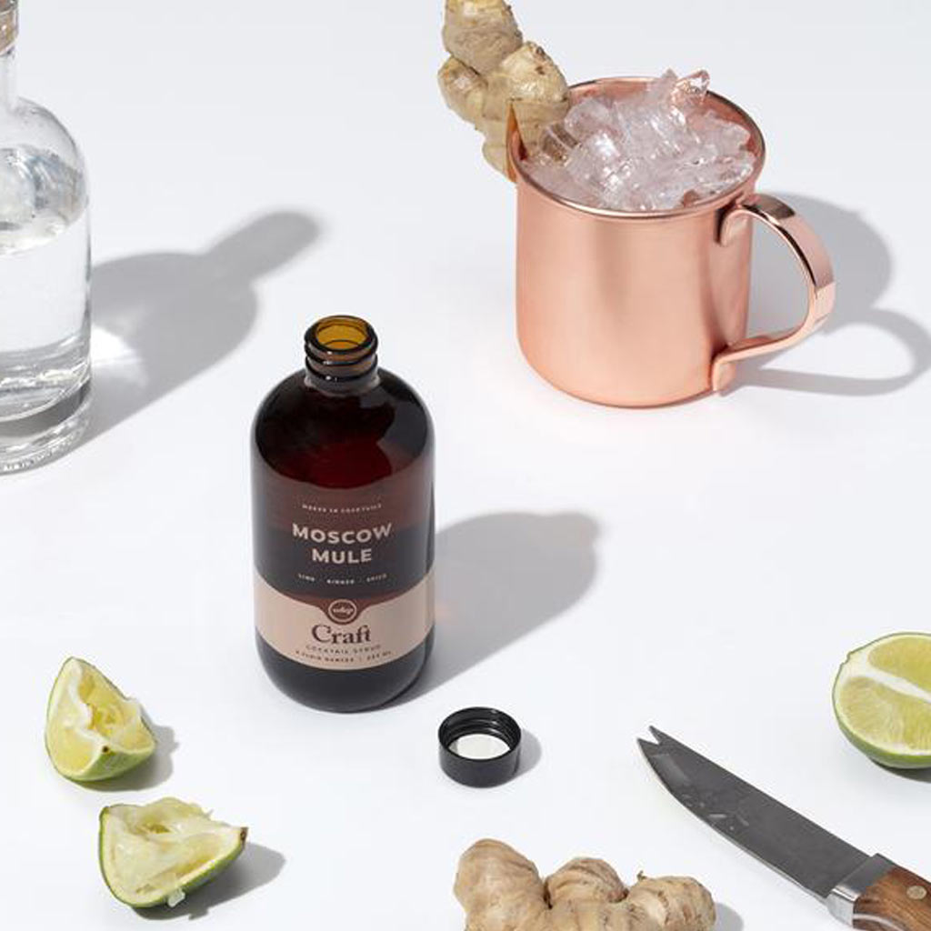 Moscow Mule Cocktail Syrup - City Bird