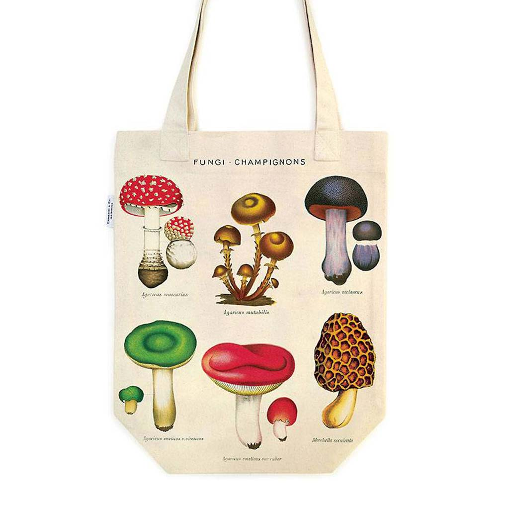 Mushrooms Tote Bag - City Bird