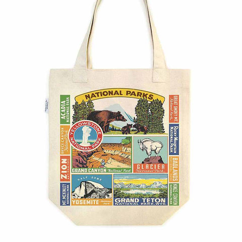 National Parks Tote Bag - City Bird