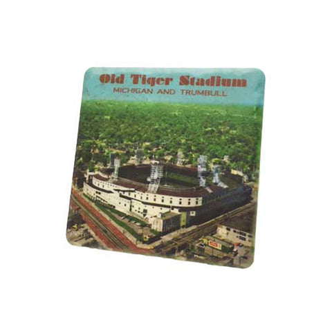 Vintage Tiger Stadium Coaster - City Bird