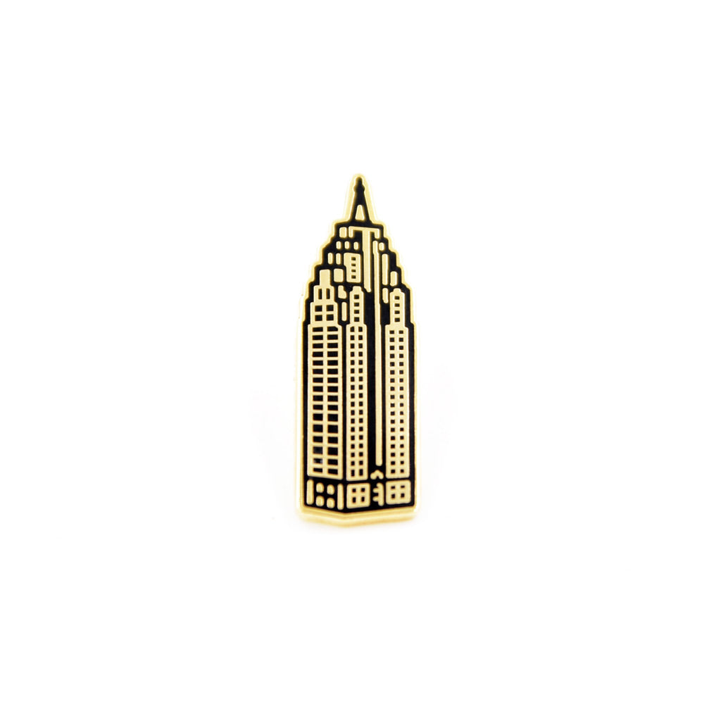 Penobscot Building Enamel Pin - City Bird