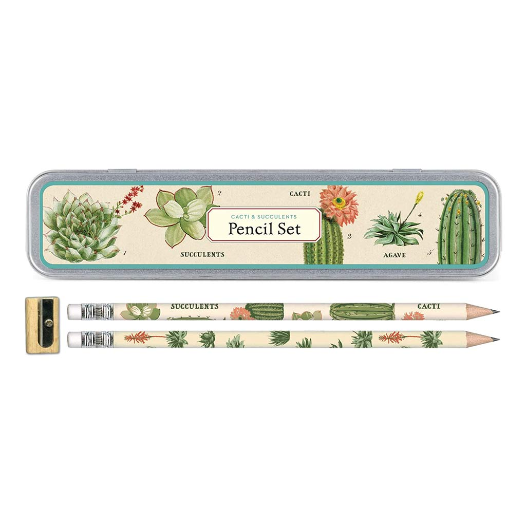 Succulents Pencil Set - City Bird