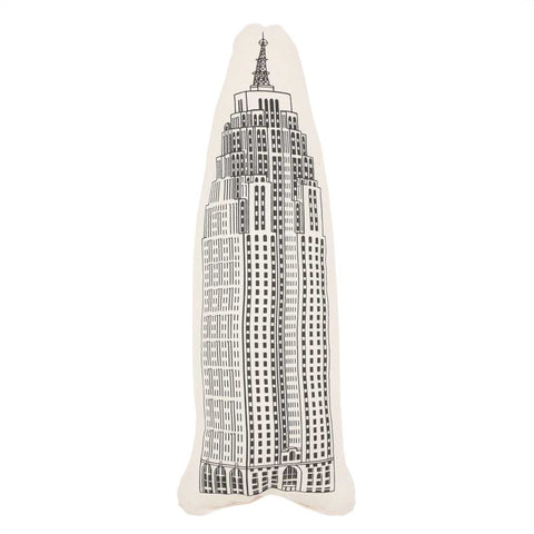 Penobscot Building-Shaped Pillow - City Bird