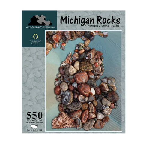 Michigan Rocks Puzzle - City Bird