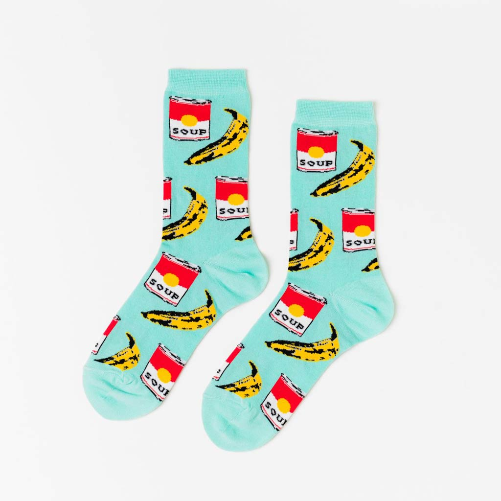 Pop Art - Women's Crew Socks - City Bird
