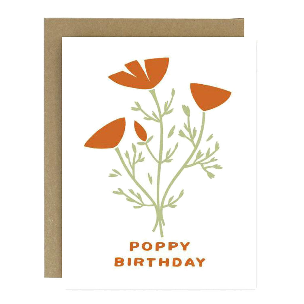 Poppy Bday Card - City Bird