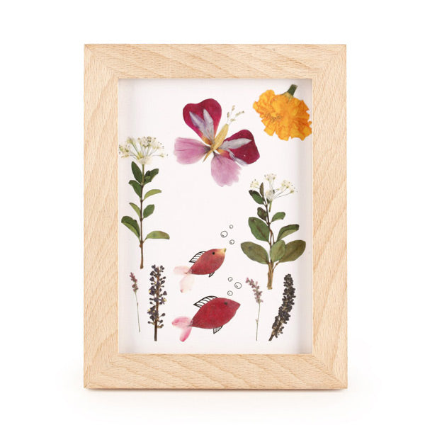 Huckleberry Pressed Flower Frame - City Bird