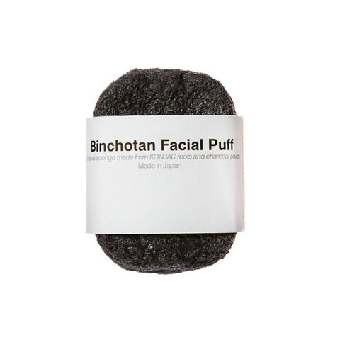 Facial Puff - Binchotan Charcoal - City Bird