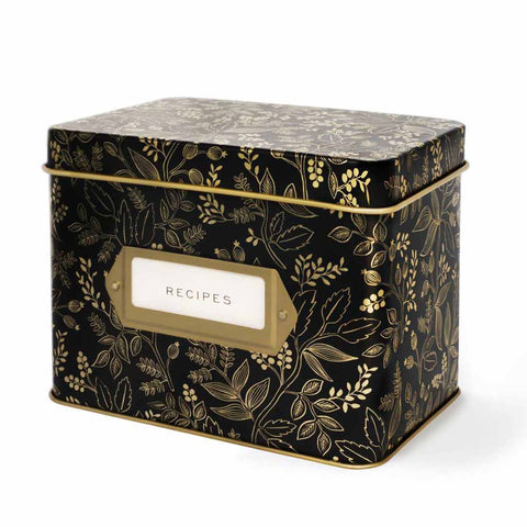 Queen Anne Recipe Box (w)
