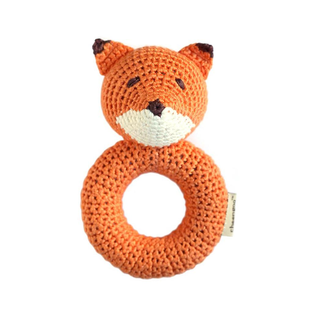Fox Ring Rattle - City Bird