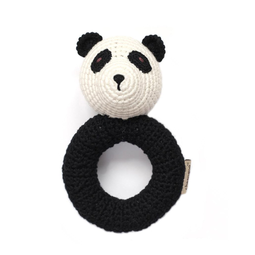 Panda Ring Rattle - City Bird