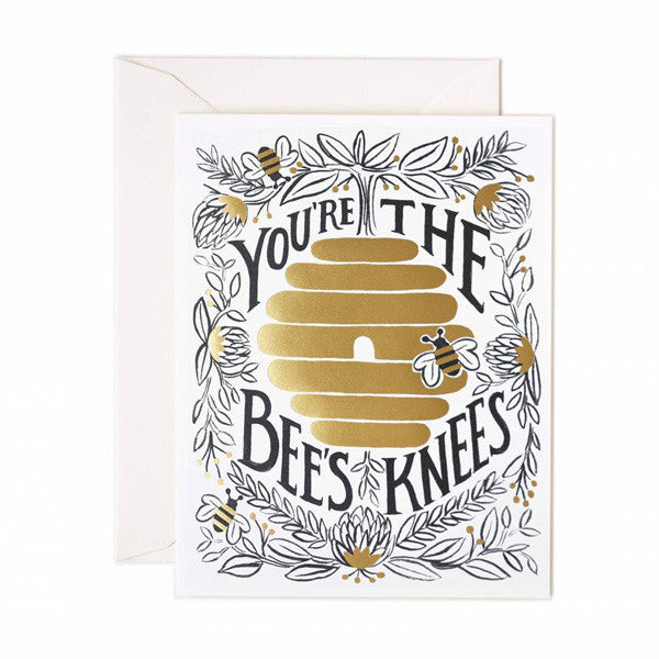 You're The Bee's Knees Love Card - City Bird