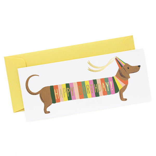 Hot Dog Birthday Card - City Bird