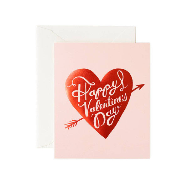 Happy Valentine's Day Heart Card - City Bird