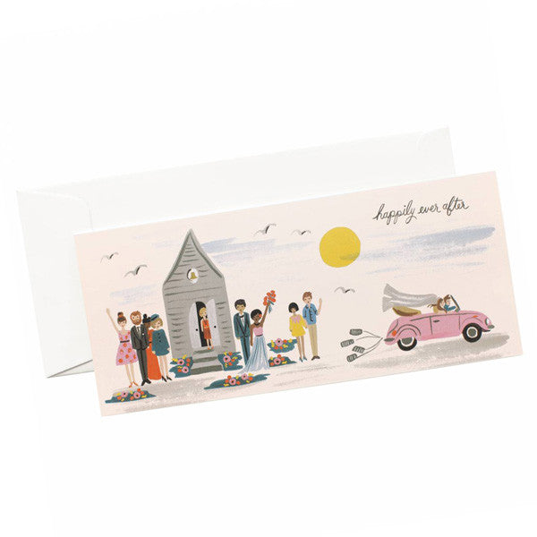 Wedding Send Off (No.10 size) Card - City Bird