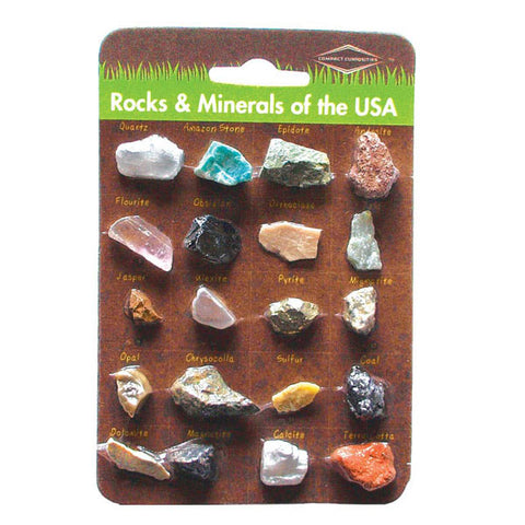 Rocks and Minerals of the USA