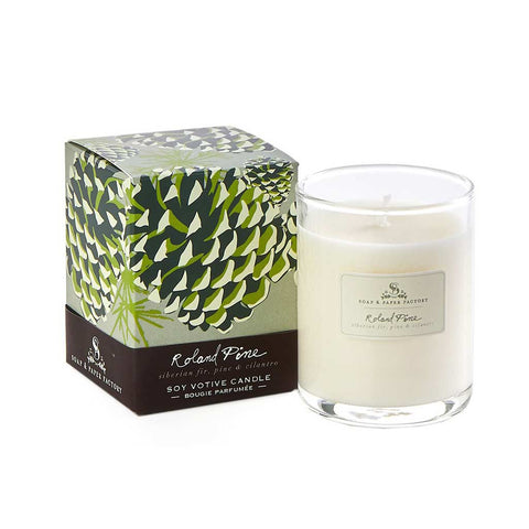Roland Pine - Soy Votive Candle