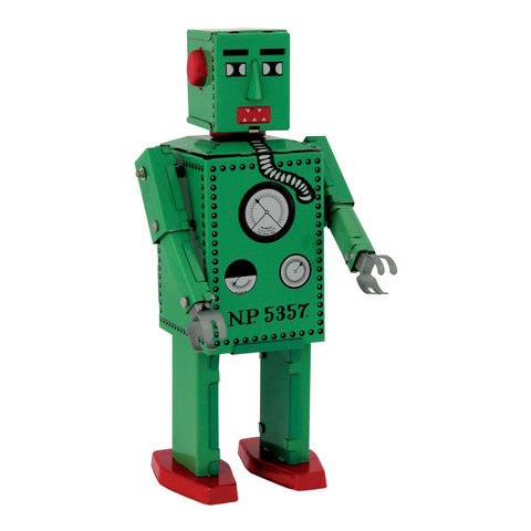 Robot Lilliput Wind-Up Tin Robot - City Bird