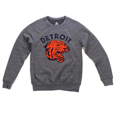 Detroit Neo-Tiger Crewneck Sweatshirt - City Bird