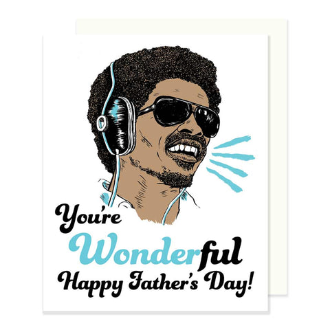 Stevie Wonder Father's Day Card