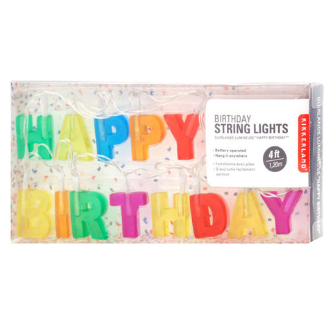 Happy Birthday Lights - City Bird