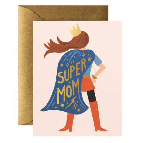 Super Mom Card - City Bird