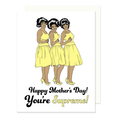 Supremes Mother's Day Card