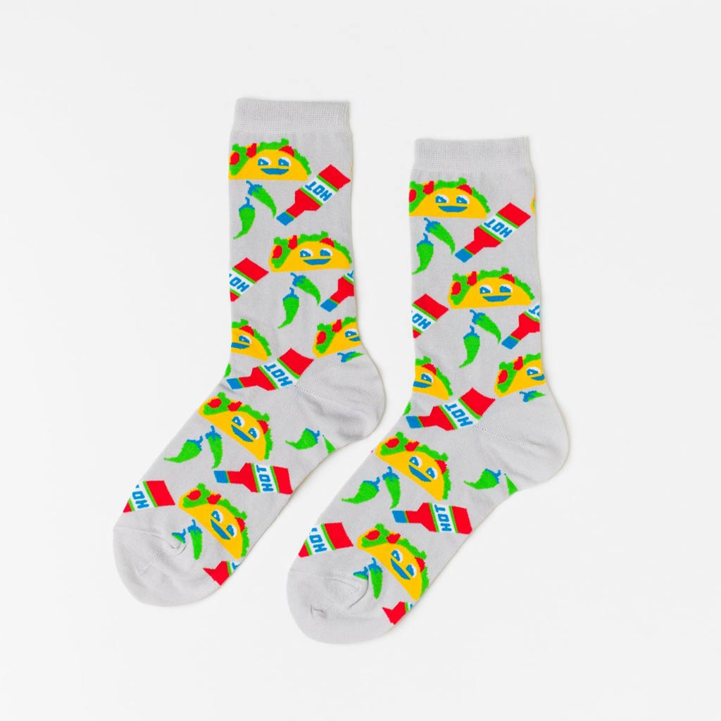 Taco - Women's Crew Socks - City Bird