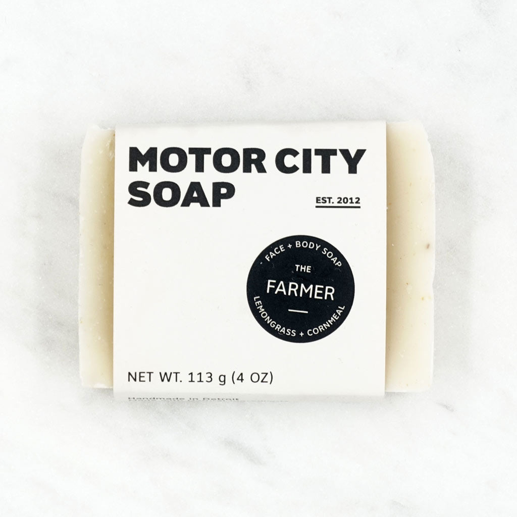 Farmer - Lemongrass + Cornmeal Soap - City Bird