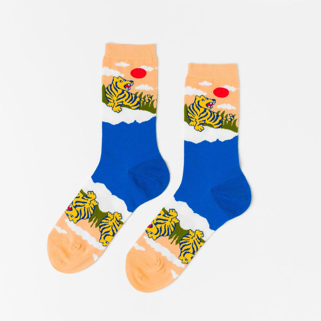 Tiger - Women's Crew Socks