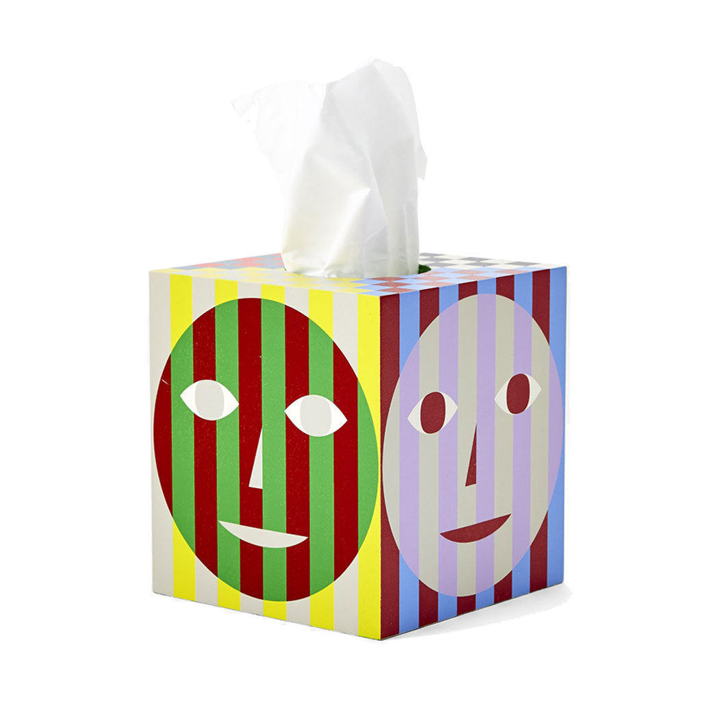 Dusen Dusen Everybody Tissue Box - City Bird