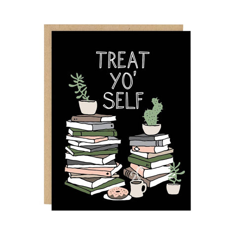 Treat Yo' Self Card - City Bird