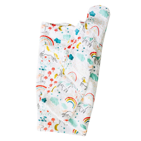 Unicorn Land Swaddle - City Bird