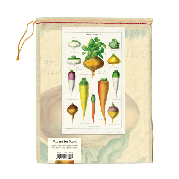 Vegetables Tea Towel - City Bird
