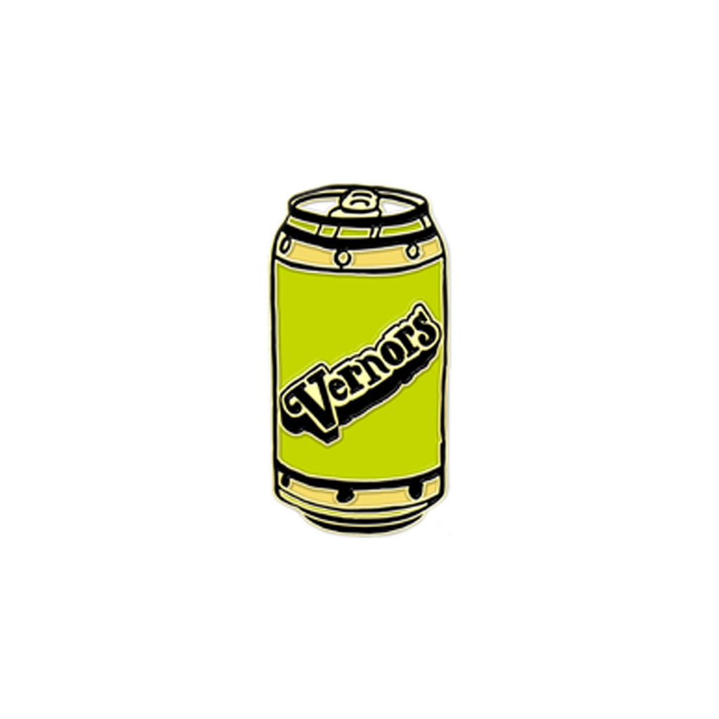 Vernor's Enamel Pin - City Bird