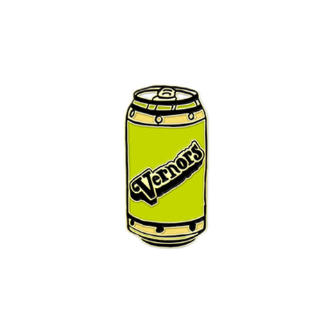 Vernor's Enamel Pin
