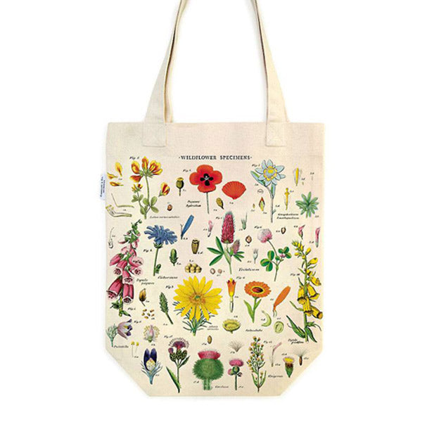 Wildflowers Tote Bag - City Bird