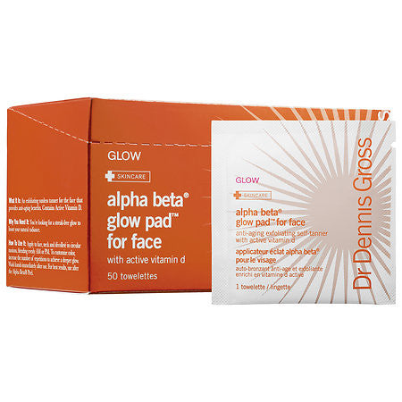 Alpha Beta Glow Pad for Face