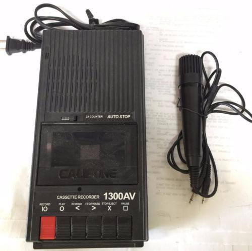 Califone 1300AV Cassette Player - CSExpress
