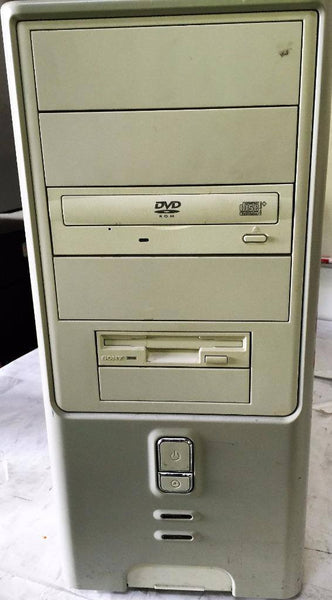 Custom Desktop Intel D915GEV MB Pentium 4HT@ 3GHz 2GB RAM DVD ROM BIOS ONLY - CSExpress