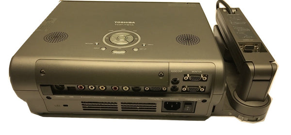 Very Nice Toshiba TDP-T91A Projector with Case/Accessories - CSExpress
