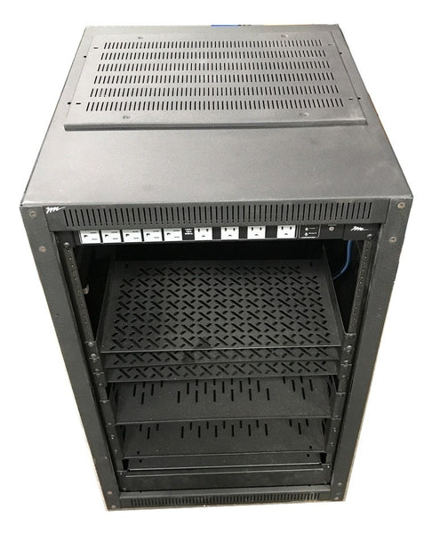 "NEW ERK Series Rack, 18 RU, 25""D, Equipment Rack - CSExpress"
