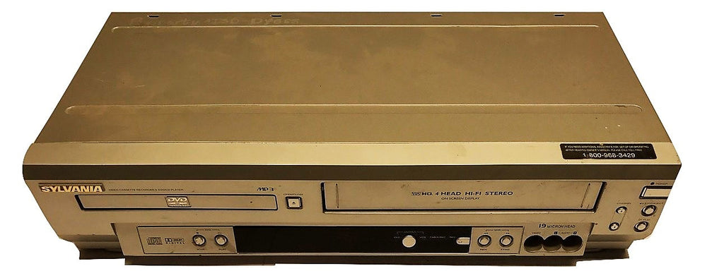 Sylvania SSD803 DVD/VHS Player - CSExpress