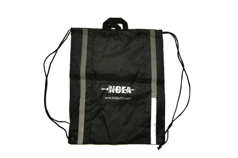 NCEA Bag - Draw String (Black)