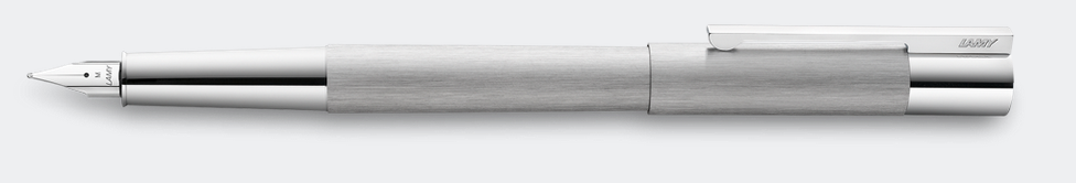 Lamy Scala Brushed Steel Fountain Pen