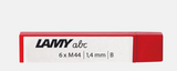 Lamy 1.4mm Lead for ABC Pencil (6pc)