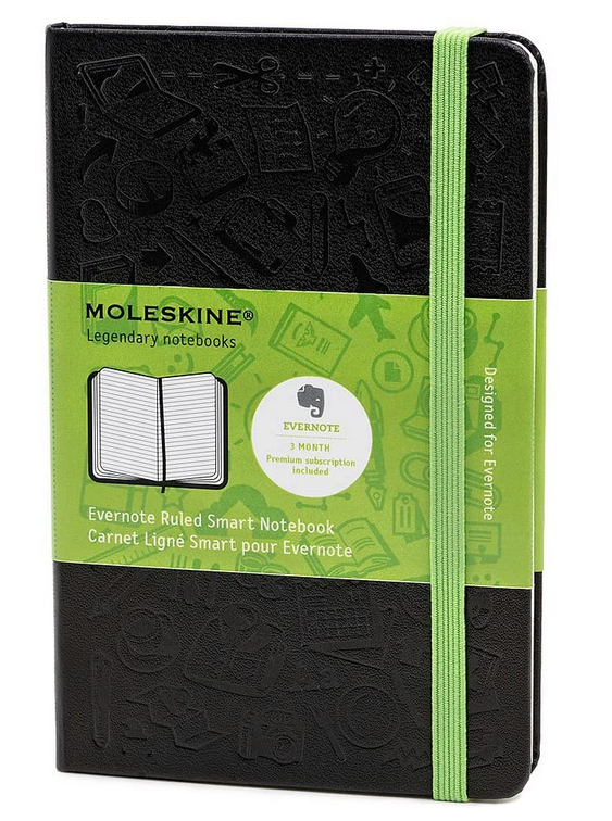 Moleskine Evernote Smart Ruled Pocket Notebook