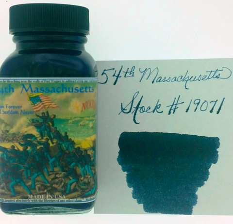 Noodler's 54th Massachusetts Bottled Ink