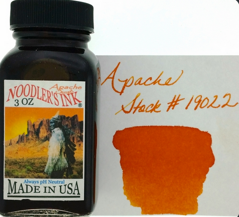 Noodler's Apache Sunset Bottled Ink