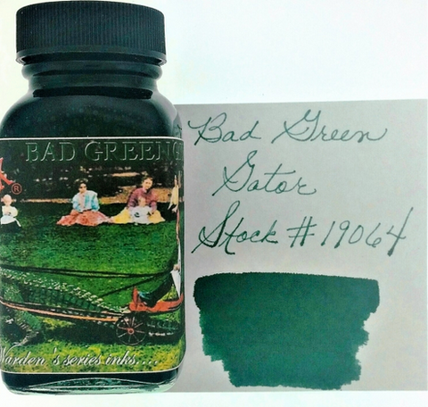 Noodler's Bad Green Gator Bottled Ink